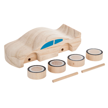 Decorate-Your-Own Wood Race Car Kit