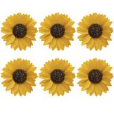 Yellow Sunflower 3D Stickers