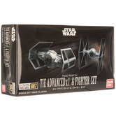 TIE Advanced x1 & TIE Fighter Model Kit