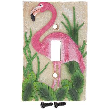 Flamingo Single Switch Plate