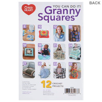 You Can Do It Crochet Granny Squares