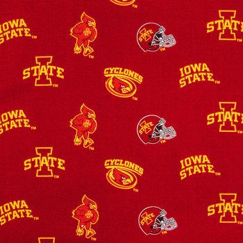 Iowa State Allover Collegiate Cotton Fabric