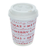 Merry Christmas Paper Coffee Cups
