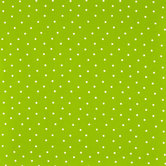 Lime & White Polka Dot Cotton Calico Fabric