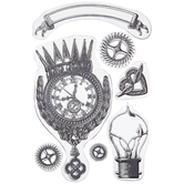 Steampunk Clear Stamps