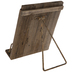 Rustic Wood Tablet Stand