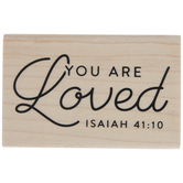 Isaiah 41:10 Rubber Stamp