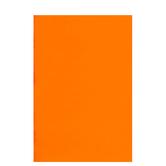 """Orange Foam Sheet - 12"""" x 18"""" x 2mm"""