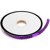 """Purple Slung Sequin Trim - 1/4"""""""