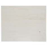 Rectangle Wood Blank Canvas