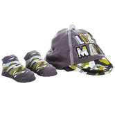 Lil' Man Baby Cap & Socks