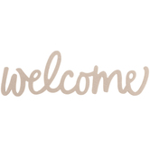 Welcome Handwritten Chipboard Shape - Large