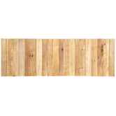 Rectangle Slatted Wood Wall Decor