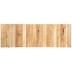 Rectangle Slatted Wood Wall Decor