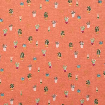 Boho Mini Pots Apparel Fabric