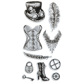 Steampunk Icons Clear Stamps