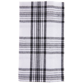 White & Black Plaid Napkins