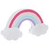 Glitter Wood Rainbow