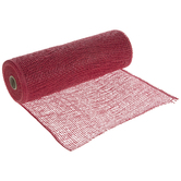 Red Deco Mesh Ribbon - 10""