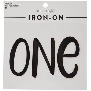 One Iron-On Applique
