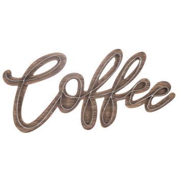 Coffee Wood Wall Decor