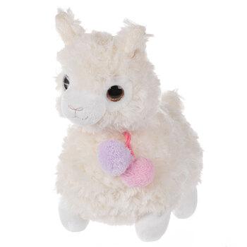 White Llama Plush