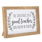 Good Teacher Wood Decor