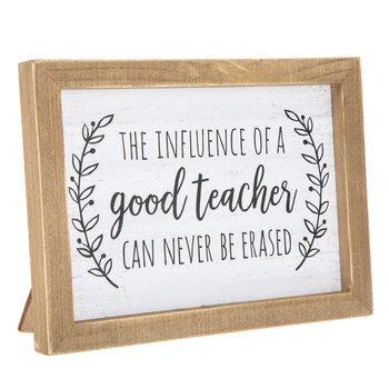 Good Teacher Wood Wall Decor