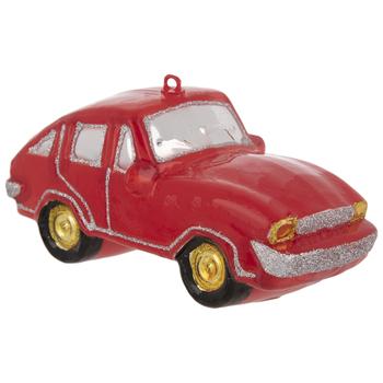 Red Sports Car Ornament