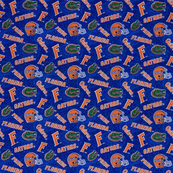 Florida Allover Collegiate Cotton Fabric