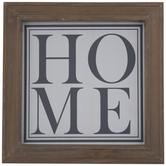 White & Gray Home Wood Decor