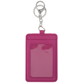 Pink Card Wallet Keychain