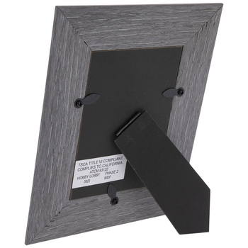 Gray Fillet Wood Look Frame