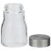 Tapered Glass Mason Jar