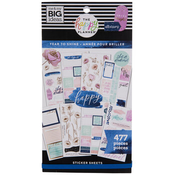 Year To Shine Happy Planner Stickers