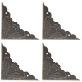 Antique Bronze Plated Corners