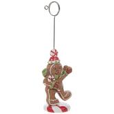 Gingerbread Man Card Holder