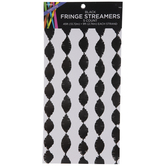 Black Fringe Streamers