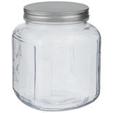 Square Glass Mason Jar - 64 Ounce