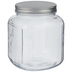 Square Glass Mason Jar - 64 Ounce