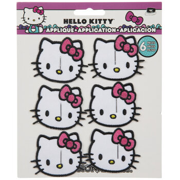 Hello Kitty Iron-On Appliques