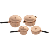 Miniature Copper Pans
