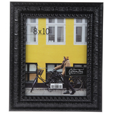 "Black Ornate Scroll Wood Wall Frame - 8"" x 10"""