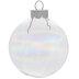 Iridescent Ball Ornaments - 2 5/8