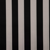 Black & Taupe Vertical Striped Outdoor Fabric