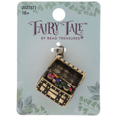 Treasure Chest Rhinestone Charm