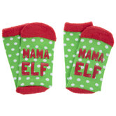 Mama Elf Crew Socks