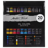 Oil Colors - 20 Piece Set