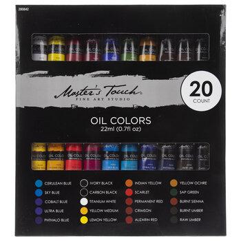 Oil Colors - 20 Piece Set