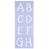 Zendition Uppercase Letter Alphabet Stencil